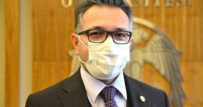 """Kovid-19'u atlatan Selçuk Üniversitesi Rektörü Aksoy: """"Kaslarımın cımbızla çekildiğini hissettim"""""""