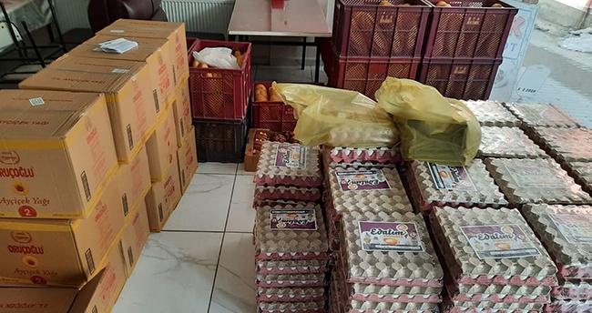 CHP Beyşehir İlçe Teşkilatı'ndan ihtiyaç sahiplerine gıda yardımı