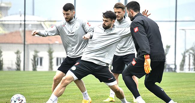Konyaspor'da kupa hazırlığı
