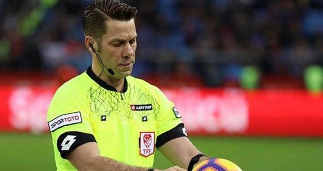 Konyaspor-Göztepe maçının hakemi Fırat Aydınus