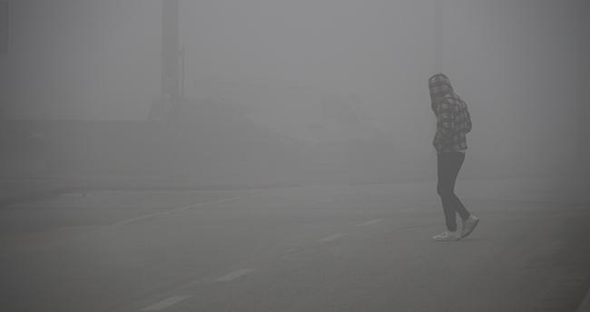 Konya'da yoğun sis etkili olmaya devam ediyor