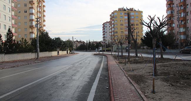 Konya'da sokağa çıkma kısıtlamasında sessizlik hakim