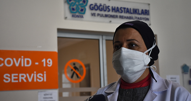 """Konya'da görev yapan doktor: """"Hastalarımızın nefes alamaması bizi çok etkiliyor"""""""