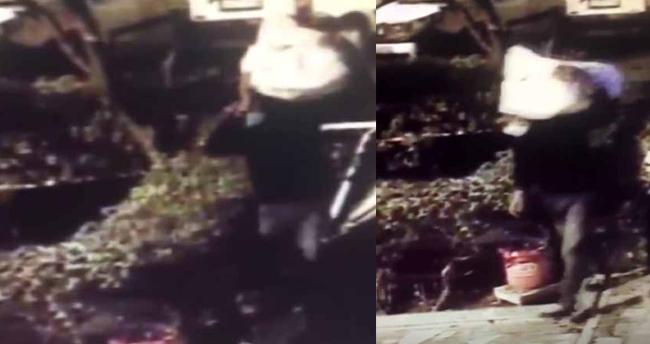İstanbul'da pes dedirten hırsızlık: Kardan adamı çaldı