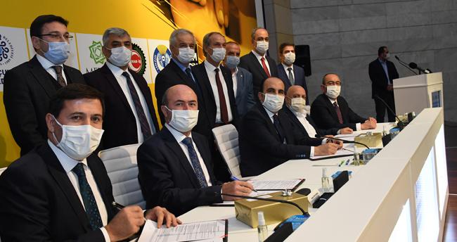Konya'da belediye işçilerinin toplu iş sözleşmesi imzalandı