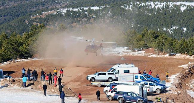 Konya'daki helikopter ambulanstan 10 yılda 2 bin 500 acil uçuş