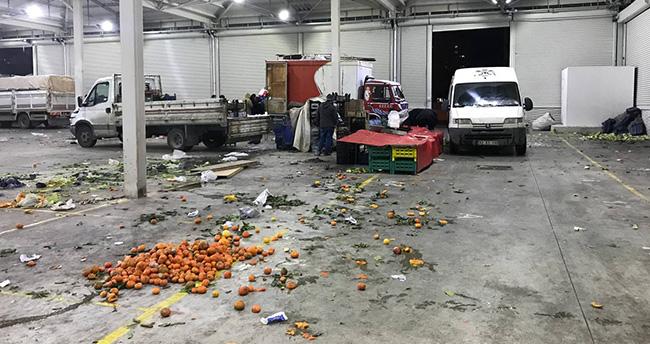 Konya'da pazarcı esnafı arasında bıçaklı kavga: 4 yaralı