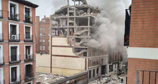İspanya'da çok şiddetli patlama!