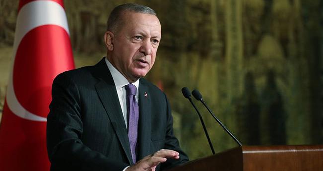 Başkan Erdoğan Kültür ve Turizm Bakanlığı 2019 – 2020 Özel Ödülleri Töreninde konuşuyor