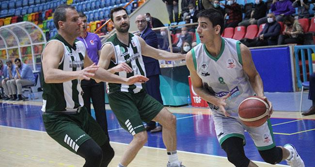 Konyaspor Basket Bornova'ya patladı