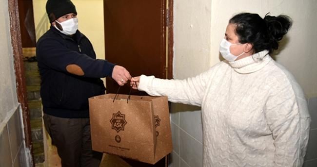 """Selçuklu'da 1250 aileye """"Çok yaşa bebek"""" hediyesi"""