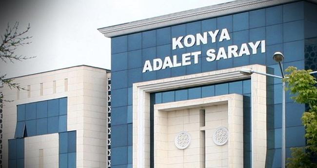 Konya'da eski karısını bıçakla yaralayan sanığın davası devam ediyor