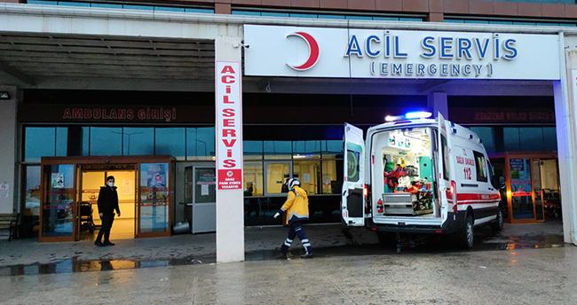 Konya'da evinin çatısından düşen kişi yaralandı
