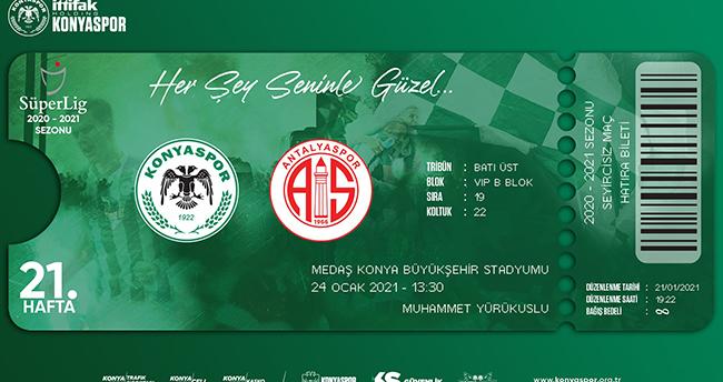 Konyaspor'dan hatıra bileti