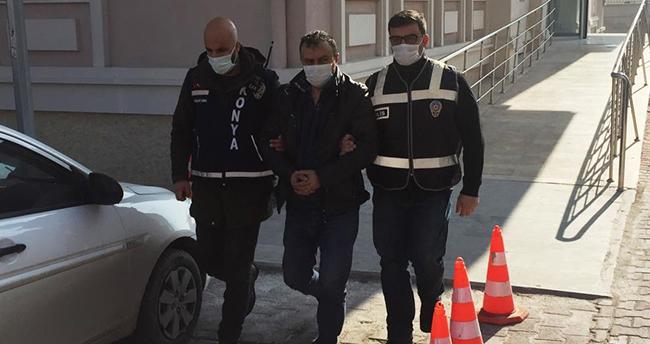 Konya'da 2 kişiyi öldüren zanlı adliyeye sevk edildi