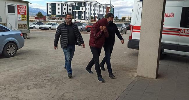 Hastane randevusundan dönen kişi Konya'da uyuşturucu ile yakalandı