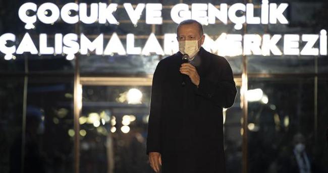 Cumhurbaşkanı Erdoğan: Buranın sesini dünya duymalı