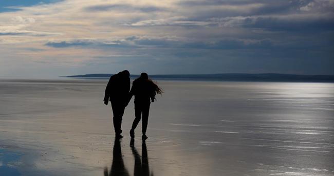 Tuz Gölü'nde su seviyesi normale dönmeye başlıyor