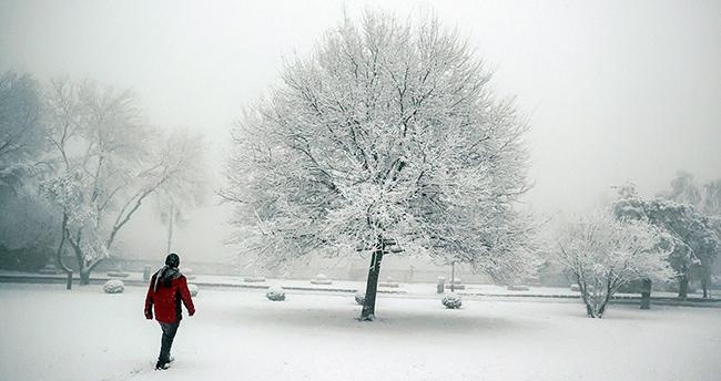 Konya'nın batı ve güney ilçeleri için kuvvetli kar yağışı uyarısı