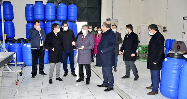 KOP Başkan Vekili Tongur, Karapınar'ı ziyaret etti