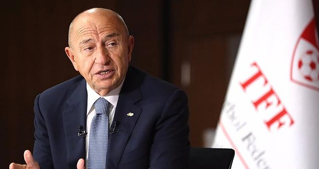 TFF Başkanı Nihat Özdemir seyircili maç için tarih verdi