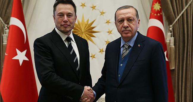 Cumhurbaşkanı Erdoğan ile Elon Musk telefonda görüştü