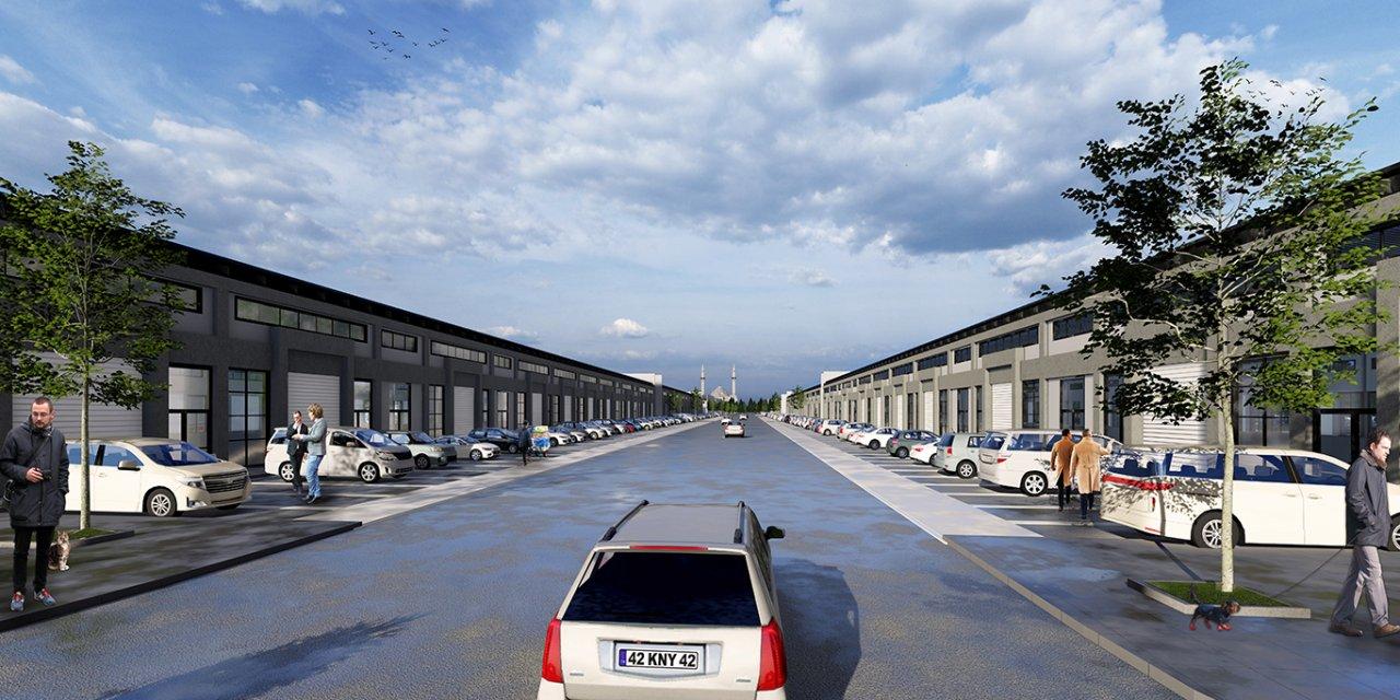 Konya Yeni Sanayi Sitesi'nin temeli atılıyor!