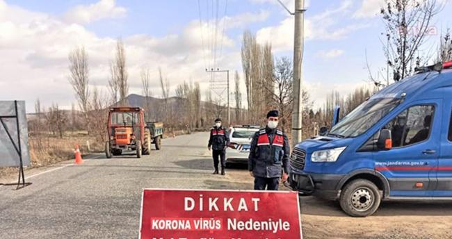 Konya'da mutasyonlu virüs tespit edilen mahallede karantina süresi uzatıldı