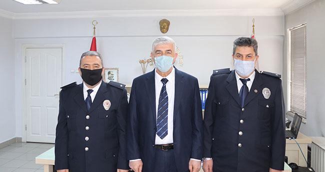 Akşehir Emniyet'inde terfi heyecanı