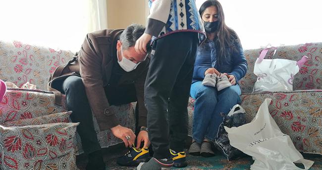 Konya'da ihtiyaç sahibi çocuklara yardımda bulunuldu