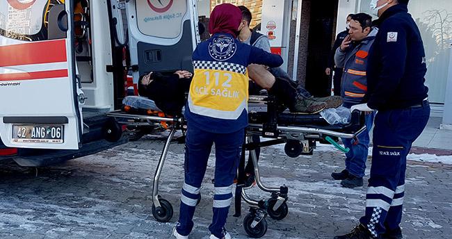Konya'da apartman girişinde pompalı tüfek bulan çocuk, yanlışlıkla bir iş yerinin sahibini yaraladı