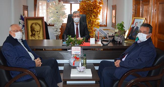Yeni Meram'dan CİB Konya Bölge Müdürü Karabulut'a hayırlı olsun ziyareti