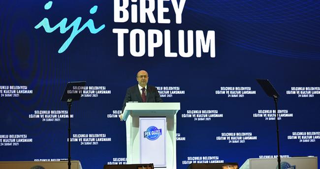 Başkan Pekyatırmacı, Selçuklu'nun yeni eğitim ve kültür projelerini anlattı