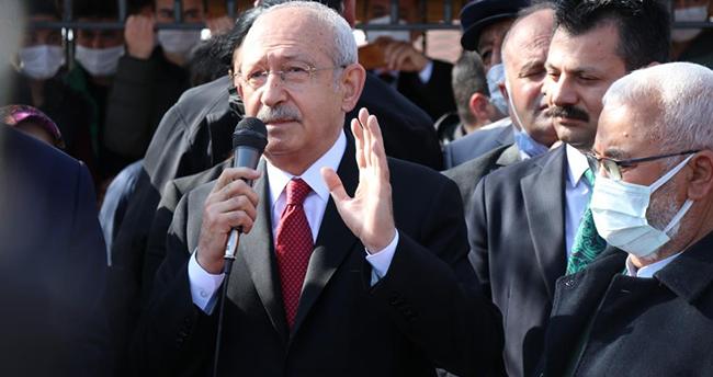 """CHP lideri Kılıçdaroğlu Aksaray'da konuştu: """"Bizim ülkemizde insanımız çalışmak istiyor"""""""