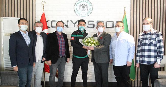 Konya TSYD'den İlhan Palut'a ziyaret