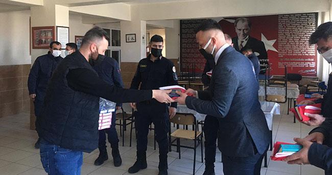 Seydişehir Ülkü Ocaklarından jandarma ve emniyete ziyaret