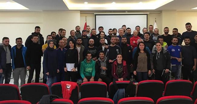 Bisiklet kursu Konya'da yapıldı