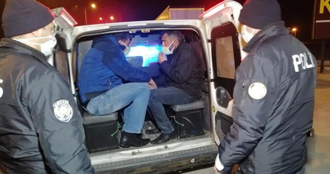 Aksaray'da tır şoförlerinin yol kavgasında baba ve oğlu darbedilerek yaralandı
