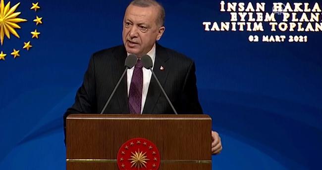 Erdoğan, İnsan Hakları Eylem Planı'nı açıkladı! İşte madde madde hukuk reformu