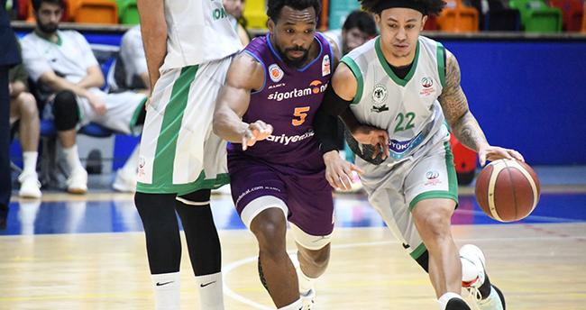 Konya Basket zirve takibinde