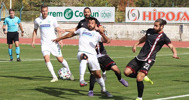 Elazığ'da 6 puanlık maç