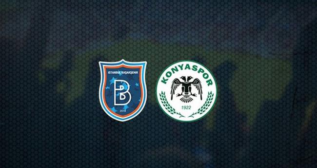 Konyaspor- Başakşehir Maç sonucu (1-1)