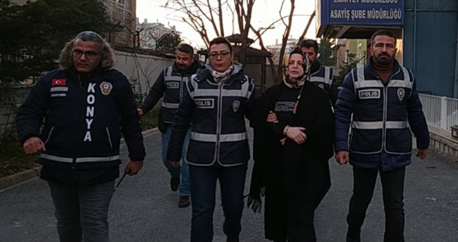Konya'da kocasının birlikte yaşadığı kadını öldüren sanığın cezası belli oldu