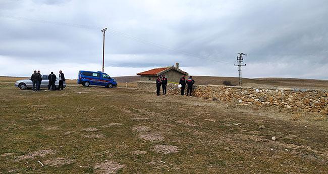 Konya'da mahalle mezarlığında ölü bulundu