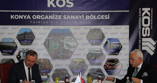 Protokol imzalandı! Konya OSB'ye Teknik Bilimler Meslek Yüksekokulu kurulacak