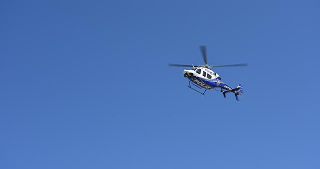 Aksaray'da helikopterli trafik denetiminde 22 sürücüye ceza kesildi