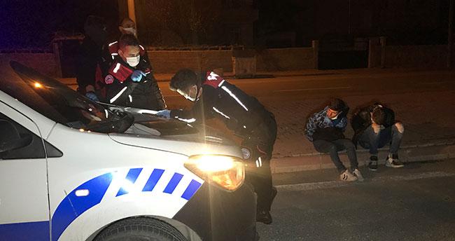 Konya'da polisin üzerine araç sürüp 30 kilometre kaçtı, 'korktuk' dedi