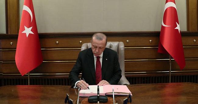Cumhurbaşkanı Erdoğan, uluslararası anlaşmalara ilişkin 7 kanunu onayladı