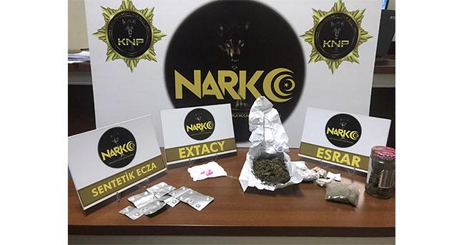Akşehir'de uyuşturucu operasyonunda 2 şüpheli gözaltına alındı