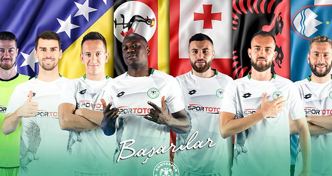 7 futbolcu milli takımda